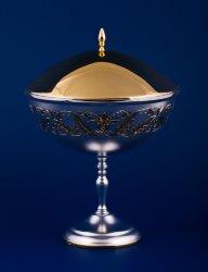 Серебряная ваза для варенья №12 (Мстёрский ювелир)