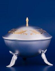 Серебряная ваза для меда №23 (Мстёрский ювелир)