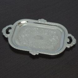 Поднос для пирожного никелированный. Кольчугинский завод