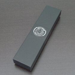 Коробка для одного столового прибора (чёрная, надпись Кольчугинский мельхиор)