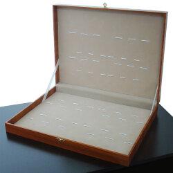 Коробка для 24-х столовых приборов (светлое дерево)