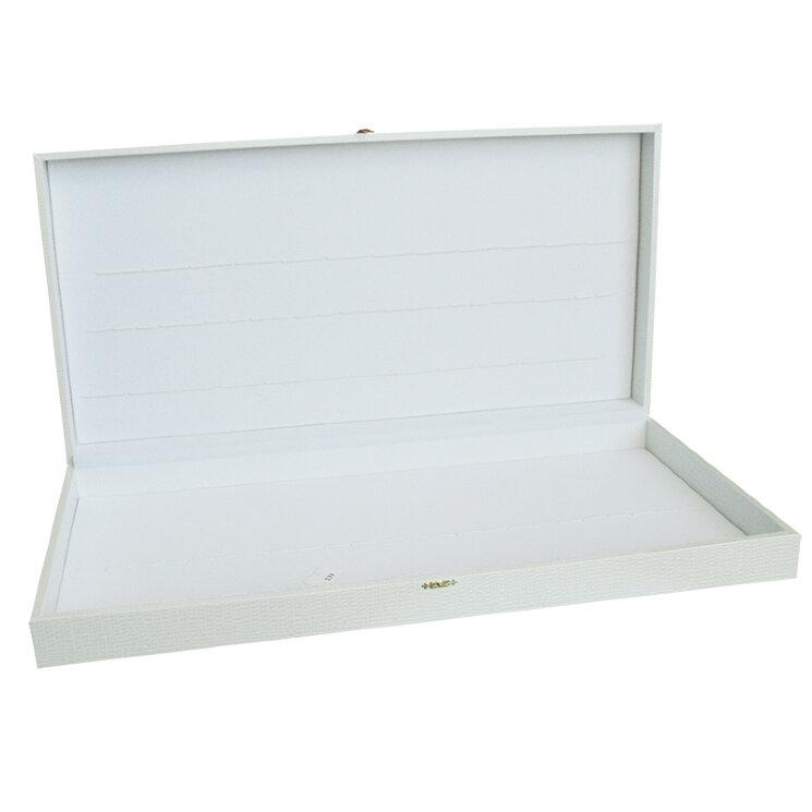 Коробка для 48 столовых приборов (свадебная, белая)