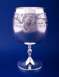 Серебрный бокал для коньяка №41 (Мстерский ювелир)