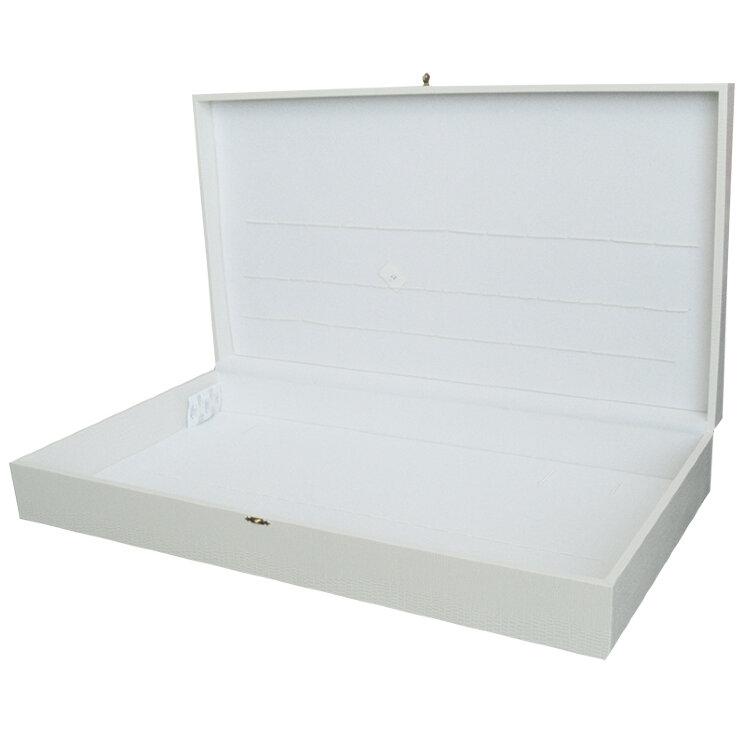 Коробка для 51 столового прибора (свадебная, белая)