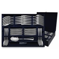 """Столовый набор из серебра 48 предметов """"Элегант"""". Аргента"""