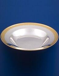 Серебряная тарелка суповая №18 (Мстёрский ювелир)