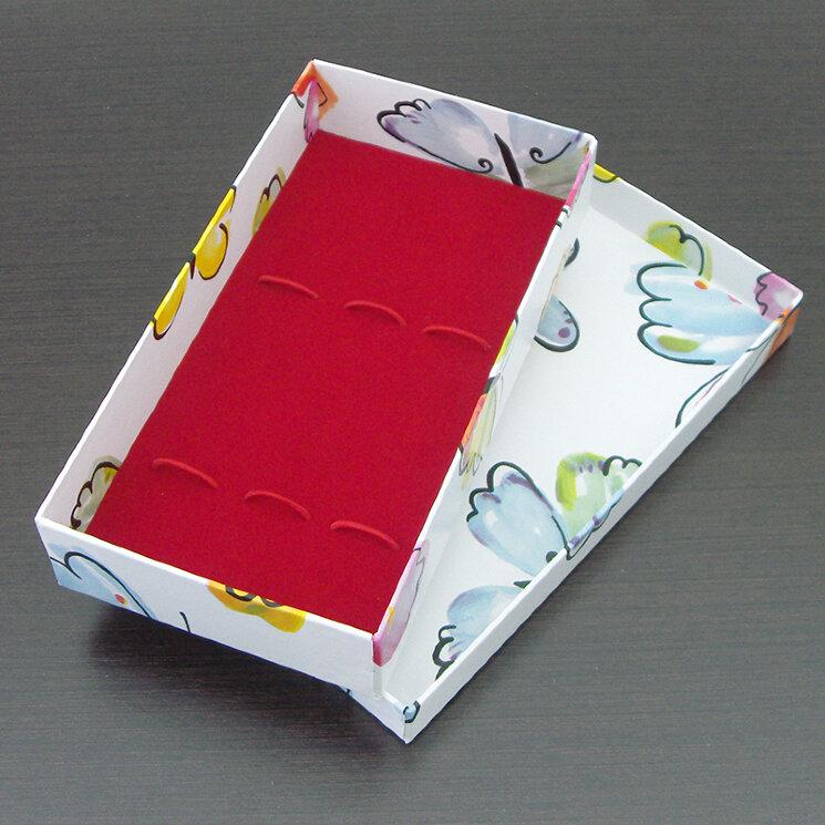 Коробка для 3 столовых приборов (с бабочкой)