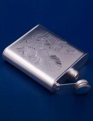 Серебряная фляжка №12 (Мстёрский ювелир)