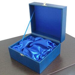 Футляр для одного подстаканника «Кольчугинский мельхиор» (синий)