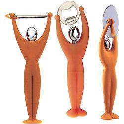 Набор кухонных инструментов «Gym Orange» (3 предмета) Casa Bugatti