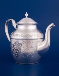Серебряный чайник №21 (Мстёрский ювелир)
