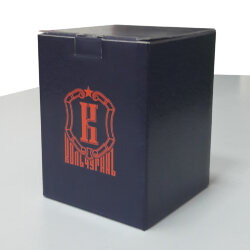 """Картонная коробочка для подстаканника со стаканом """"Кольчугинъ"""""""