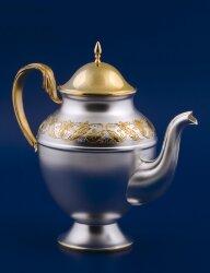 Серебряный чайник №7 (Мстёрский ювелир)