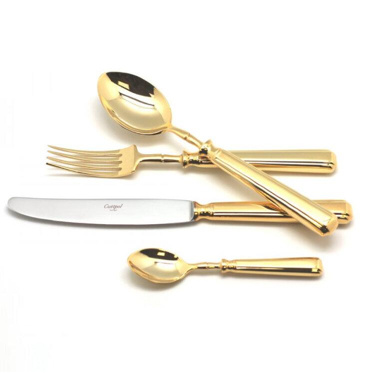 Набор столовых приборов 24 предмета «Piccadilly Gold» Cutipol