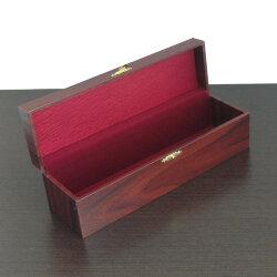 Коробка для 6 столовых ложек (бордовая с замочком)
