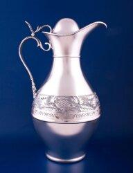 Серебряный кувшин для воды №8 (Мстёрский ювелир)